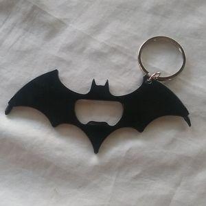 Heavy Duty Batman Bottle Opener Keychain